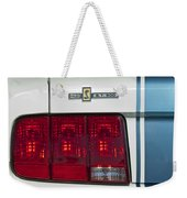 Ford Shelby Cobra Gt 500 Taillight Weekender Tote Bag