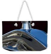 Ford Streetrod Hood Ornament Weekender Tote Bag