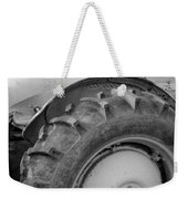 Ford Tractor In Black And White Weekender Tote Bag