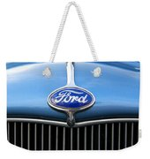 Ford Truck Emblem Weekender Tote Bag