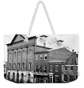 Fords Theater - After Lincolns Assasination - 1865 Weekender Tote Bag