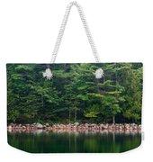 Forest At Jordan Pond Acadia Weekender Tote Bag