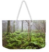 Forest Ferns On A Foggy Morning Weekender Tote Bag