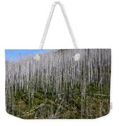 Forest Fire Sticks-3 Weekender Tote Bag