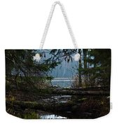 Forest Lake Weekender Tote Bag