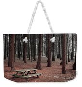 Forest Table Weekender Tote Bag