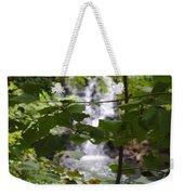 Forest Waterfall Weekender Tote Bag