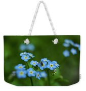 Forget-me-nots In Treman State Park, Ny Weekender Tote Bag