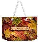 Forgive-autumn Weekender Tote Bag