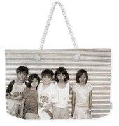 Forgotten Faces 1 Weekender Tote Bag