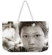 Forgotten Faces 15 Weekender Tote Bag