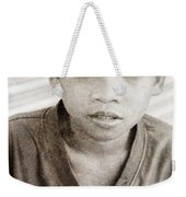 Forgotten Faces 4 Weekender Tote Bag