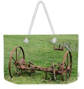 Forgotten Farm Equipment Weekender Tote Bag