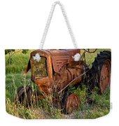 Forgotten Tractor 20 Weekender Tote Bag