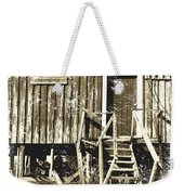 Forgotten Wooden House Weekender Tote Bag
