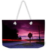 Fork In The Road Weekender Tote Bag