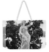 Forsyth Fountain - Black And White 2 Weekender Tote Bag