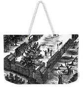 Fort Boonesborough, 1775 Weekender Tote Bag