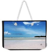 Fort Desoto Beach Weekender Tote Bag