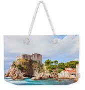 Fort Lovrijenac In Dubrovnik Weekender Tote Bag