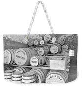 Fort Macon Food Supplies Bw 9070 3759 Weekender Tote Bag