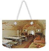 Fort Macon Mess Hall_9078_3765 Weekender Tote Bag