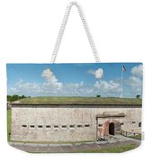 Fort Macon Panorama 1 Weekender Tote Bag