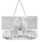 Foucaults Pendulum, 1851 Weekender Tote Bag