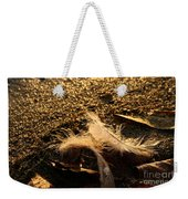 Found Feathers Weekender Tote Bag