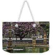 Fountain And Tree Weekender Tote Bag