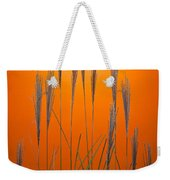 Fountain Grass In Orange Weekender Tote Bag
