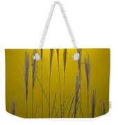Fountain Grass In Yellow Weekender Tote Bag