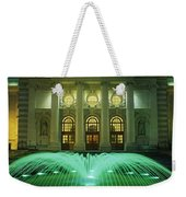 Fountain In Front Of A Government Weekender Tote Bag