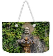 Fountain In The Walled Garden, Florence Weekender Tote Bag