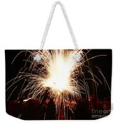 Fountain Of Sparks Weekender Tote Bag