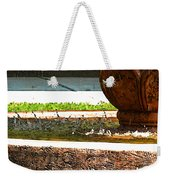 Fountain With Painted Effect Weekender Tote Bag