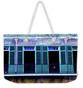 Four Balcony Windows Weekender Tote Bag
