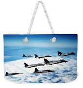 Four F-14 Tomcats And Three F-5 Tiger Weekender Tote Bag