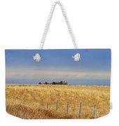 Four Outbuildings In The Field Weekender Tote Bag