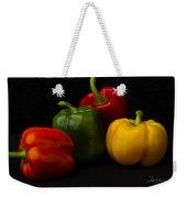 Four Peppers Weekender Tote Bag