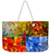 Four Seasons In Abstract Weekender Tote Bag
