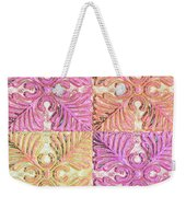 Four Times Four Weekender Tote Bag
