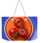 Four Tomatoes  Weekender Tote Bag