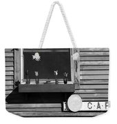 Four Tulips Cafe Bw Weekender Tote Bag