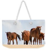 Four Wild Mustangs Weekender Tote Bag