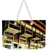 Four Wooden Chairs Weekender Tote Bag