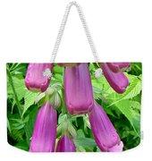Foxglove Flower Buds - Digitalis Purpurea Weekender Tote Bag