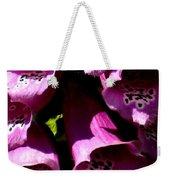Foxglove Macro Weekender Tote Bag