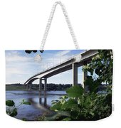 Foyle Bridge, Derry City, Co Weekender Tote Bag