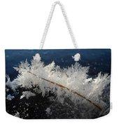 Fractal Frosty Ice Crystals Weekender Tote Bag